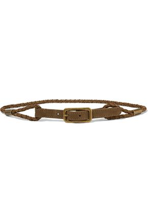 ZIMMERMANN Braided suede belt
