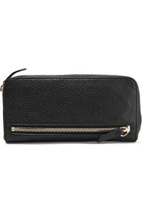 ALEXANDER WANG Fumo textured-leather continental wallet