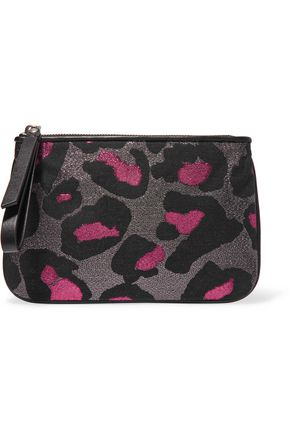 MARC BY MARC JACOBS The Roxy metallic jacquard pouch