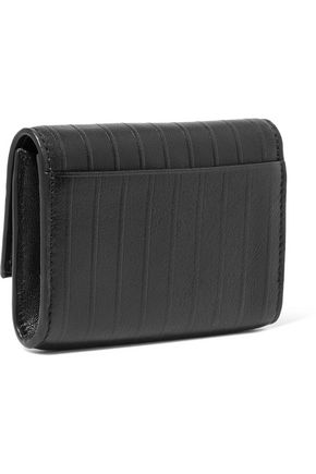 DKNY Paneled leather wallet