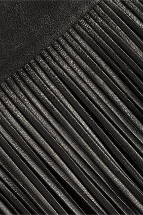 VALENTINO GARAVANI Fringed leather belt