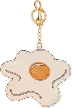 ANYA HINDMARCH Egg leather keychain