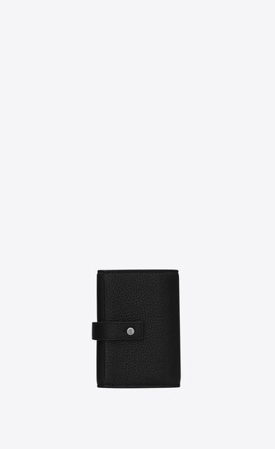 サック・ド・ジュール ソフト キーケース(ブラック/グレインレザー)