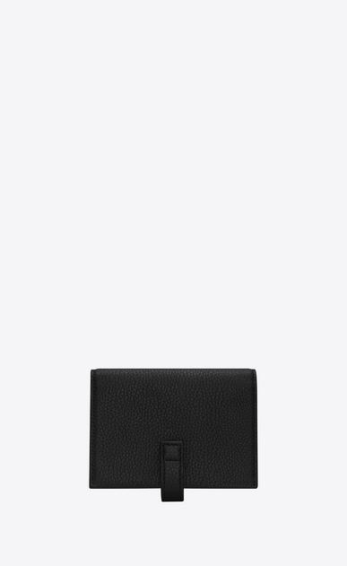 SAINT LAURENT Sac de jour SLG D SAC DE JOUR SOUPLE business credit card case in black grained leather b_V4