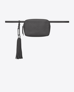 SAINT LAURENT Belt Bags D LOU belt bag in asphalt gray leather f