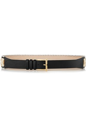 BALMAIN Cutout leather belt