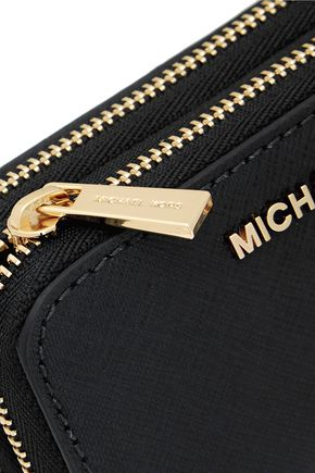 MICHAEL MICHAEL KORS Textured-leather wallet