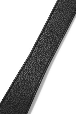 EMILIO PUCCI Textured-leather belt