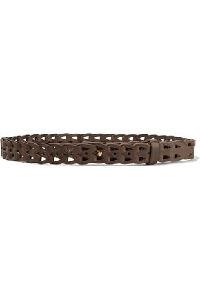 IRO Woven leather belt