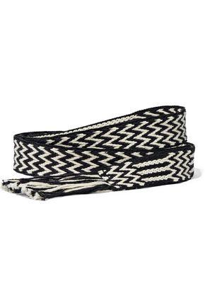 ISABEL MARANT ÉTOILE Fringed woven belt
