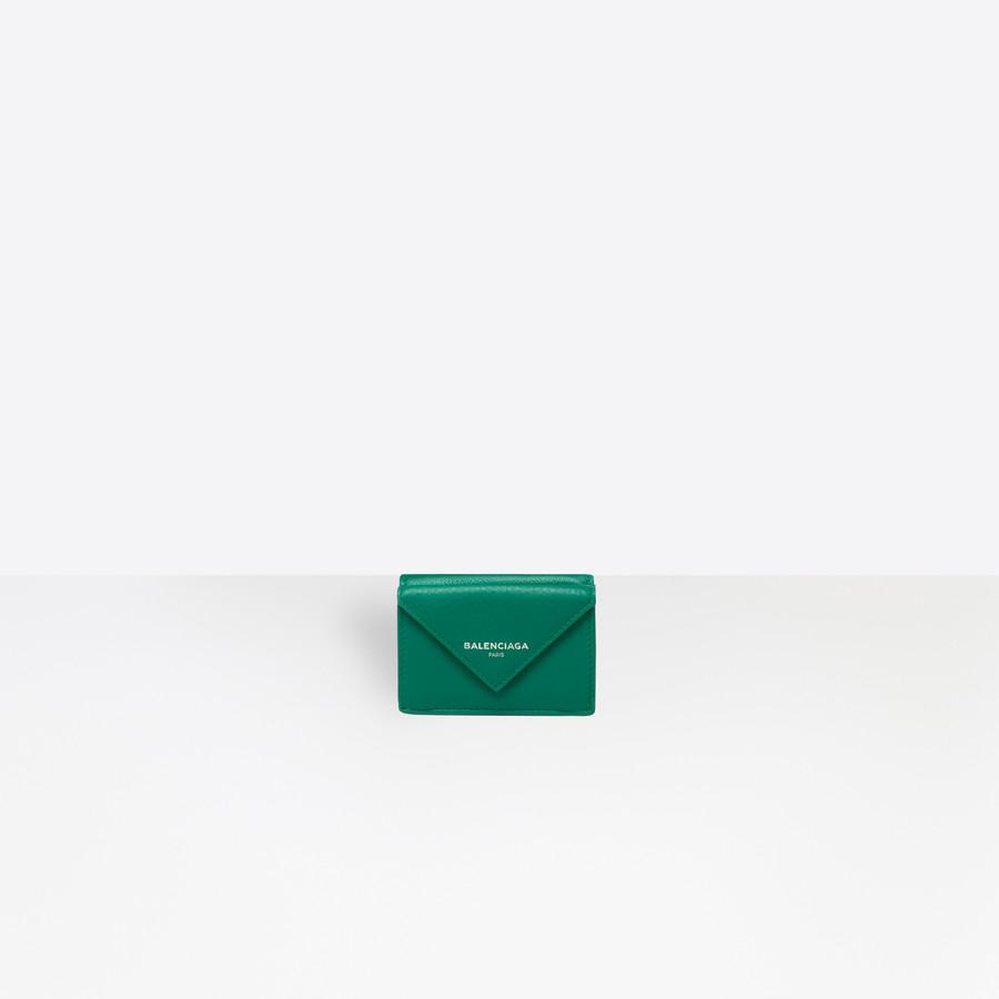 BALENCIAGA Papier Mini Wallet Papier wallet Woman f