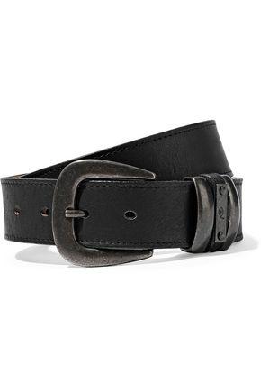 McQ Alexander McQueen Textured-leather belt