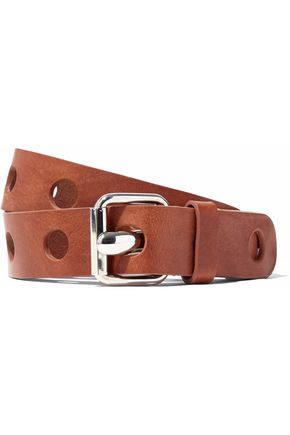 MM6 by MAISON MARGIELA Cutout leather belt