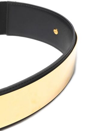 STELLA McCARTNEY Metallic faux leather belt