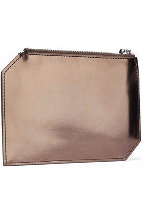 Maison Martin Margiela Mm6 By Maison Margiela Woman Metallic Faux Patent-leather Pouch Bronze Size Magasin De Sortie Pour Populaire Et Pas Cher LY9n8l0m