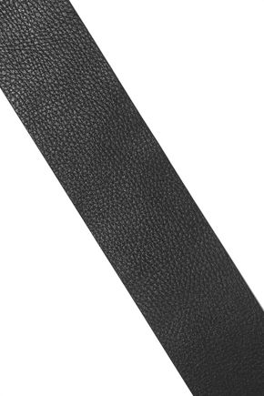 MICHAEL KORS COLLECTION Pebbled-leather belt