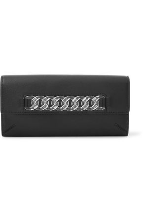 CHARLOTTE OLYMPIA Embellished leather wallet