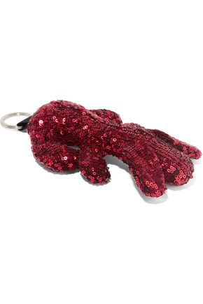 MM6 MAISON MARGIELA Sequined canvas keychain