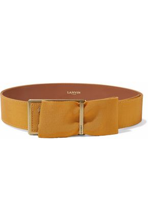 LANVIN Bow-embellished grosgrain belt