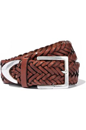 RAG & BONE Woven leather belt