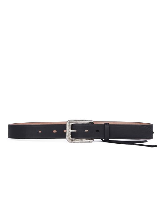 lanvin distorted buckle belt men