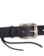 LANVIN Belt Man DISTORTED BUCKLE BELT f