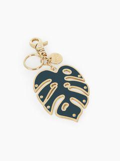 Porte-clés feuille de palmier