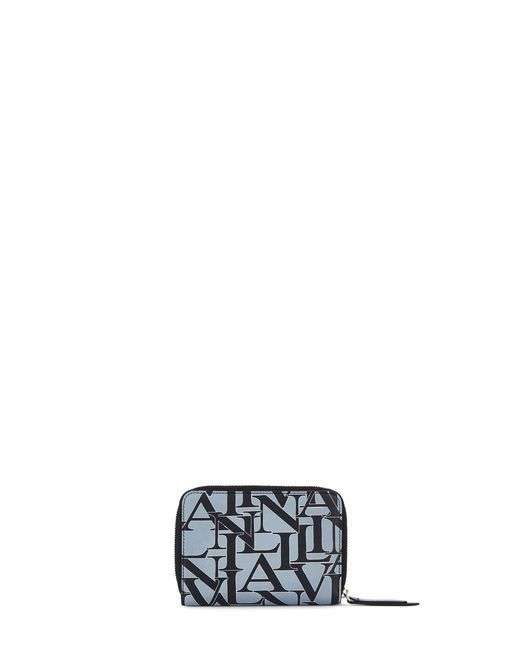 lanvin small wallet women