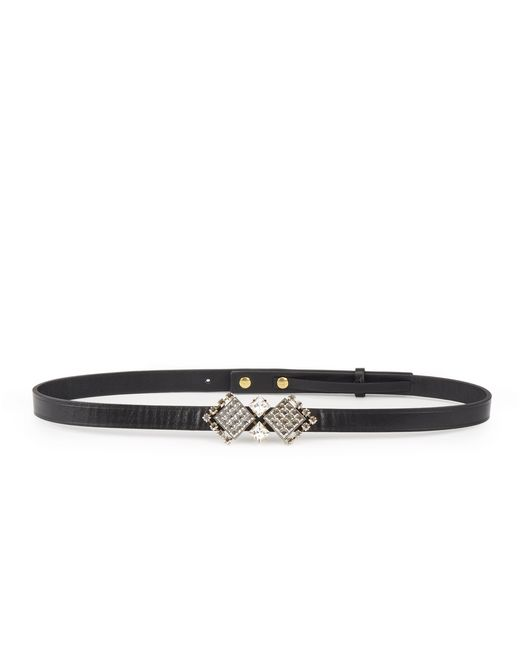 "CRYSTAL ""DIAMOND SQUARE"" BELT - Lanvin"