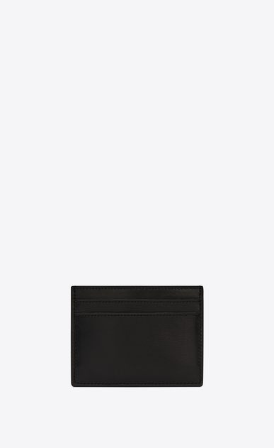 SAINT LAURENT SLP animation Man card case in smooth leather b_V4