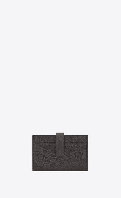 SAINT LAURENT Sac de jour SLG Man Sac de Jour card holder in storm gray grained leather b_V4