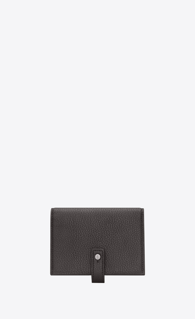 SAINT LAURENT Sac de jour SLG Man Sac de Jour supple business card case in grained leather a_V4