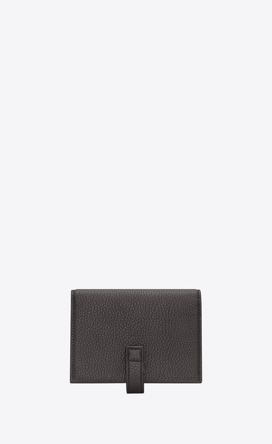 SAINT LAURENT Sac de jour SLG Man Sac de Jour supple business card case in grained leather b_V4