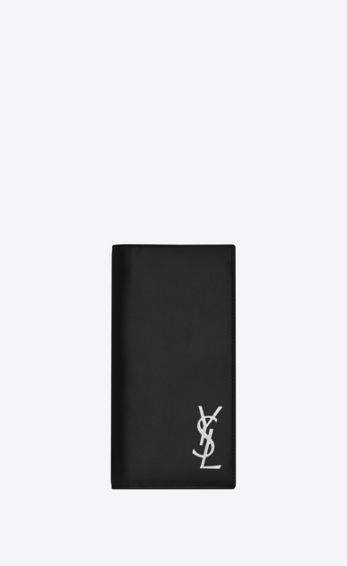 SAINT LAURENT Monogram SLG Man monogram continental wallet in smooth leather a_V4