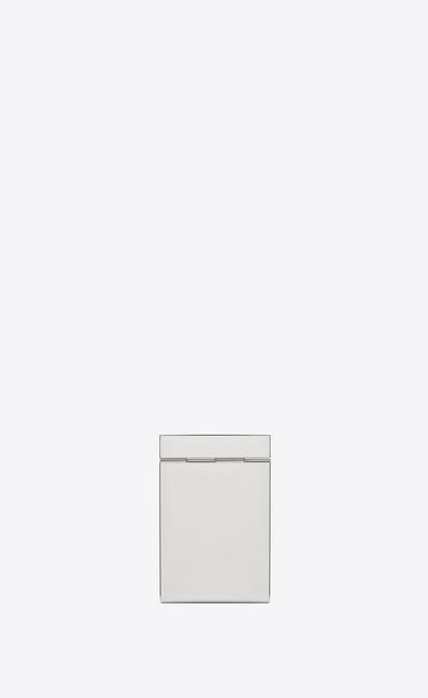 SAINT LAURENT Saint Laurent Paris SLG Homme SMOKING BOX en métal couleur miroir b_V4