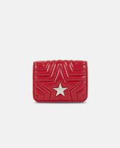 Stella Mccartney Stella Star Flap Wallet - Red