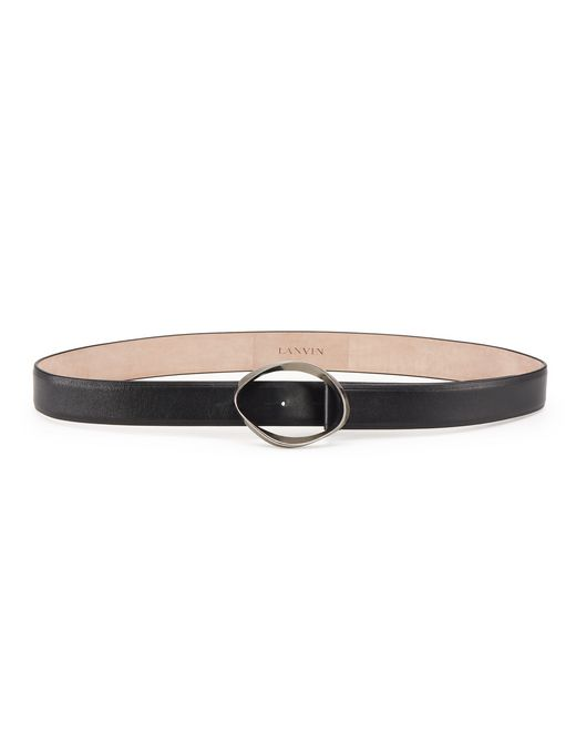 DISTORTED BUCKLE BELT - Lanvin