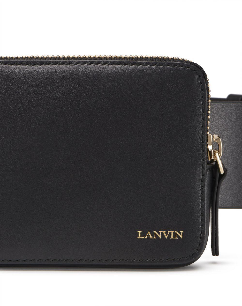 BLACK SMARTPHONE BELT - Lanvin
