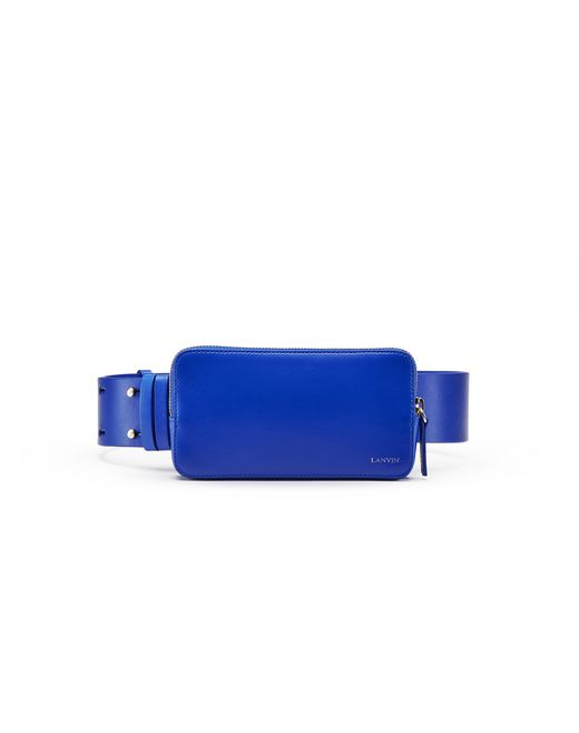 ELECTRIC BLUE SMARTPHONE BELT - Lanvin