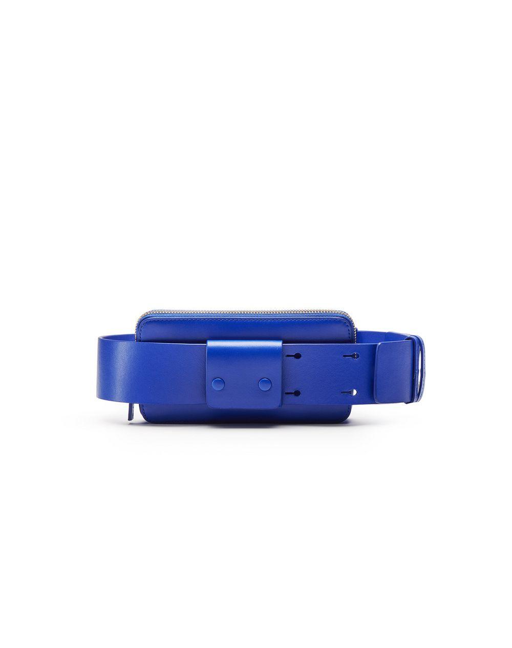 ELECTRIC BLUE SMARTPHONE BELT - Lanvin