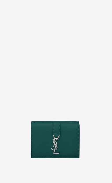 SAINT LAURENT YSL line レディース YSL Line tiny wallet in smooth leather a_V4