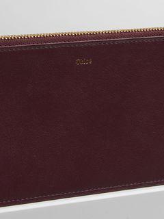 Alphabet flat wallet
