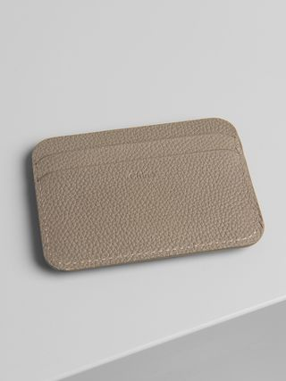 Slide card holder
