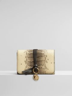 Alphabet compact wallet