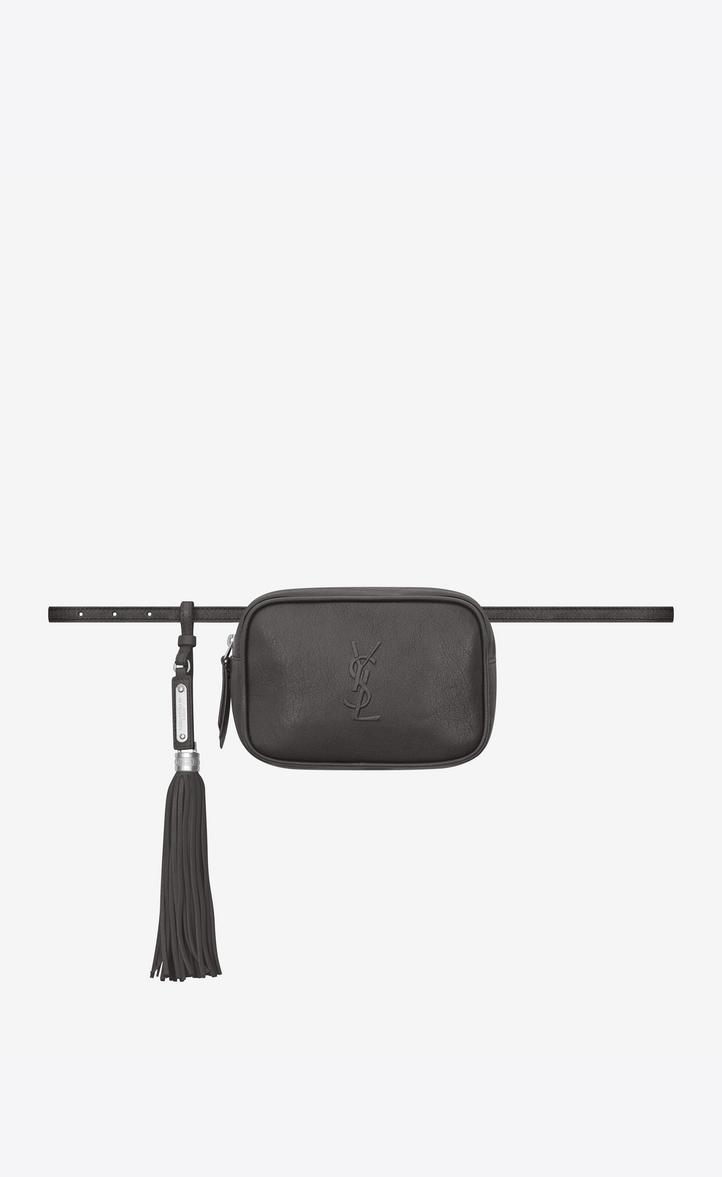 Saint Laurent Lou Belt Bag In Smooth Leather Ysl Com