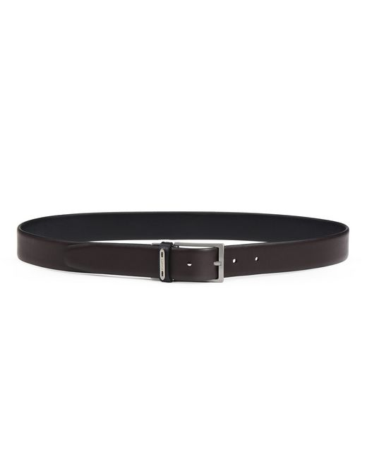 TWO-TONED REVERSIBLE BELT - Lanvin