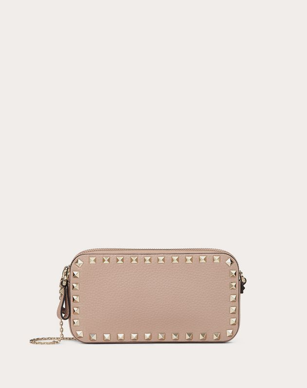 Rockstud Pouch with Chain