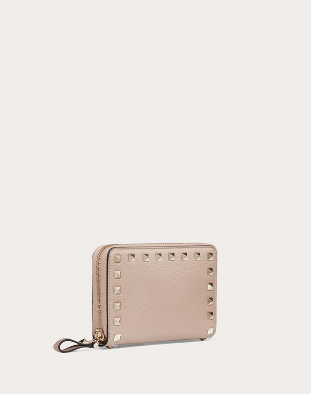 Rockstud Zippered Wallet