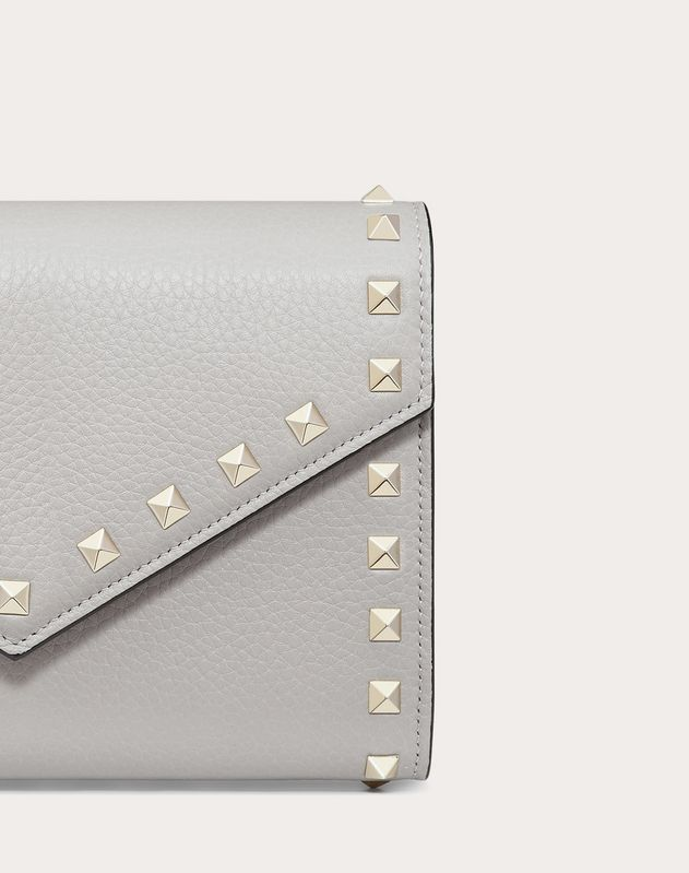 Rockstud Wallet with chain