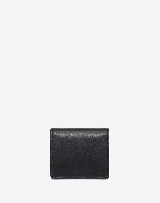 Bicolor Lock Mini Pouch With Shoulder Strap